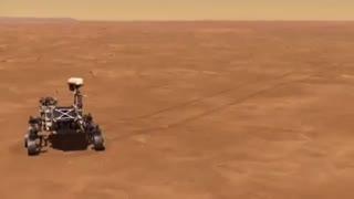 ارسال اولین وسیله پروازی به مریخ توسط ناسا