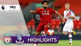 خلاصه بازی لیورپول 4 - کریستال پالاس 0 از هفته 31 لیگ برتر انگلیس