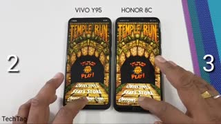 Honor 8C vs Vivo Y95 Speed Test _ TechTag ( 720 X 720 )
