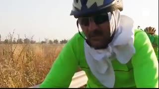 کاروان دوچرخه سواری «حرم تا حرم» در راه مشهد الرضا