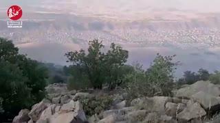 آتشسوزی در سفیدکوه خرمآباد