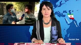 رگ ایرانی  یعنی عنایت آزغ  - برنامه پروین زمانی
