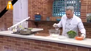 Bahoone - بهونه با سامان گلریز - طرز تهیه کوکوی قارچ و اسفناج | اموزش اشپزی غذا های ایرای و خارجی خوشمزه کیک دست پخت طرز تهیه