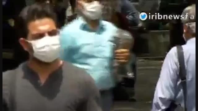 فراگیر شدن زدن ماسک در بین مردم