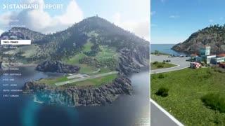 تریلر گیم پلی بازی Microsoft Flight Simulator - بازی مگ