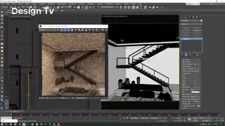 قسمت دوم ویدئوی یک دقیقه ای آموزش Vray