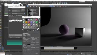 قسمت هفتم ویدئوی یک دقیقه ای آموزش Vray