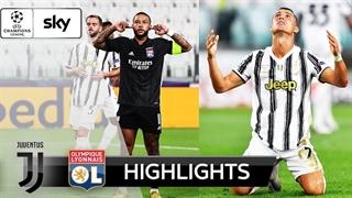 خلاصه بازی یوونتوس 2 (2) - لیون 1 (2) از مرحله یک هشتم نهایی لیگ قهرمانان اروپا