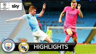 خلاصه بازی منچسترسیتی 2 (4) - رئال مادرید 1 (2) از مرحله هشتم نهایی لیگ قهرمانان اروپا