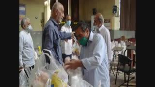 یازدهمین مرحله طرح همدلی و احسان مسجد ولیعصر(عج) شهرک شهید محلاتی