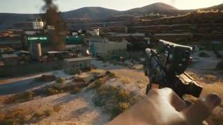تریلر جدید Cyberpunk 2077 با محوریت سلاح ها - بازی مگ
