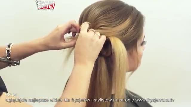 آموزش مدل مو دخترانه پیچ با سنجاق- مومیس مرجع و مشاور مو